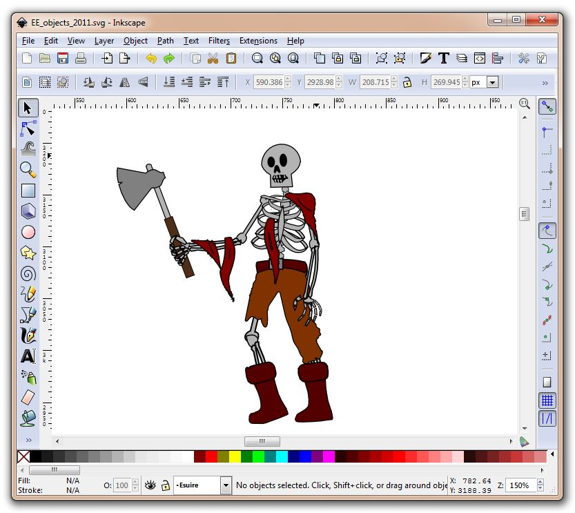 Inkscape free vector graphic software Free computer art programs